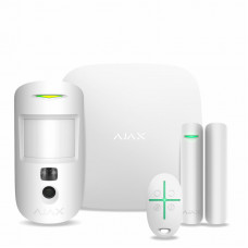 Комплект охоронної сигналізації Ajax StarterKit Cam White