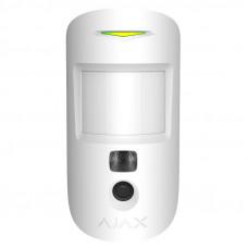Бездротовий датчик руху Ajax MotionCam білий