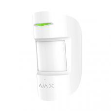 Бездротовий датчик руху і розбиття Ajax CombiProtect білий