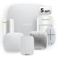 Комплект сигналізації StarterKit home 4 White