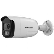 Відеокамера DS-2CE12DFT-PIRXOF (2.8 мм) 2Мп ColorVu Turbo HD с PIR датчиком и сиреной